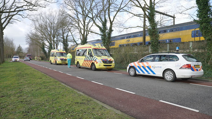 Zowel brandweer, politie als ambulancedienst kwam ter plekke in Twello.