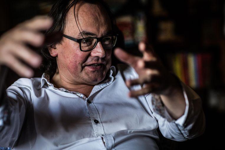 Johan Braeckman, filosoof (UGent): 'Genetische revolutie.' Beeld Bas Bogaerts