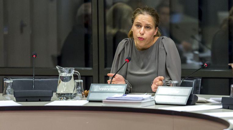 Carola Schouten: 'Er is in feite een kettingreactie ontstaan van 'duwen en terugduwen' van de beeldvorming.' Beeld anp