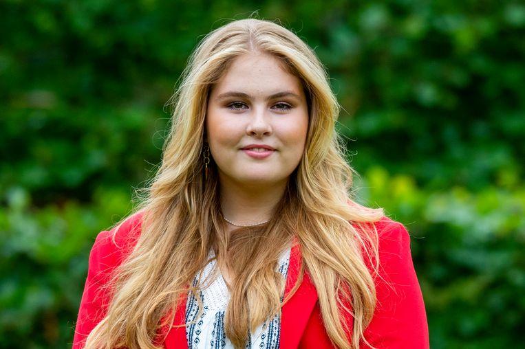 Claudia de Breij schrijft boek over Amalia mét medewerking van de prinses Beeld EM-Press/Patrick van Emst