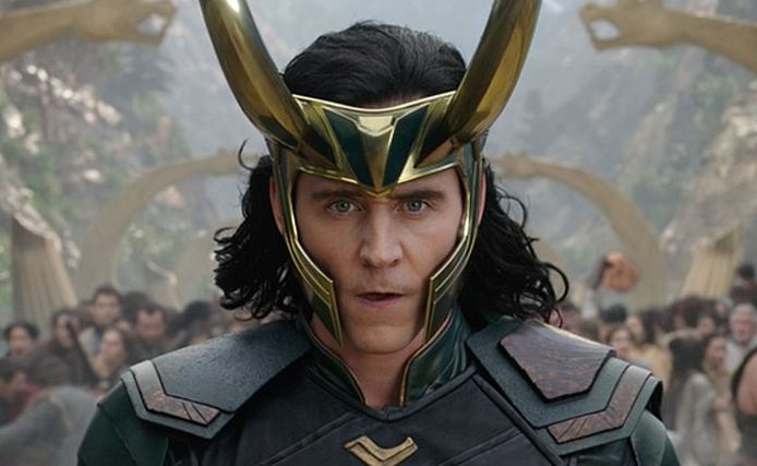 Loki (acteur Tom Hiddleston).