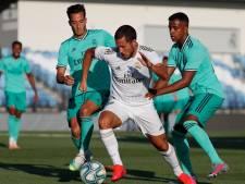 LIVE | Hazard maakt rentree bij Real,'Lissabon klopt Frankfurt in strijd om CL-duels'