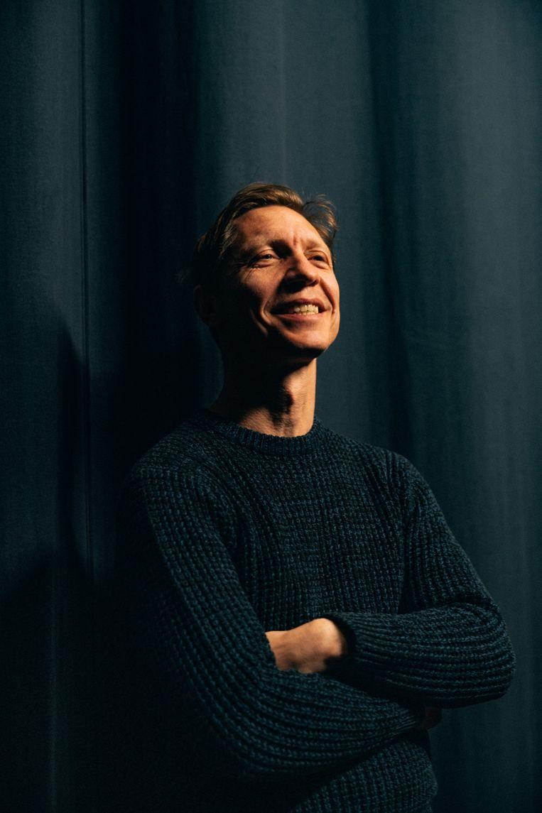 Acteur Valentijn Dhaenens. Beeld Illias Teirlinck