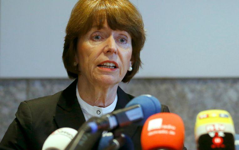 Burgemeester Henriette Reker van Keulen. Beeld REUTERS