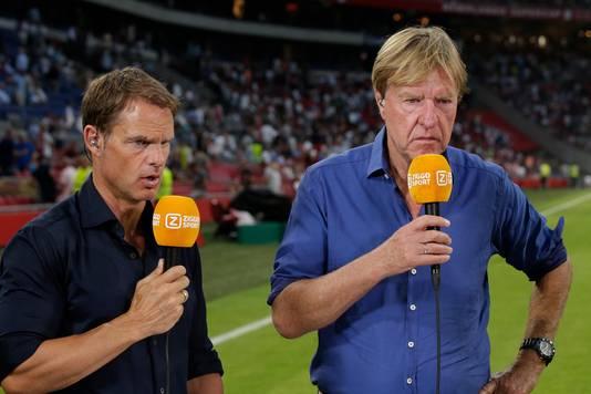 Aad de Mos, hier met links Frank de Boer.