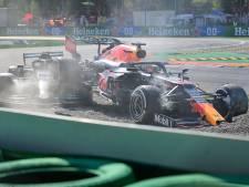 Verstappen landt bovenop Hamilton na spectaculaire crash