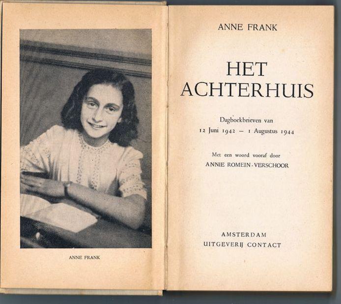 Anne Frank Het Achterhuis.