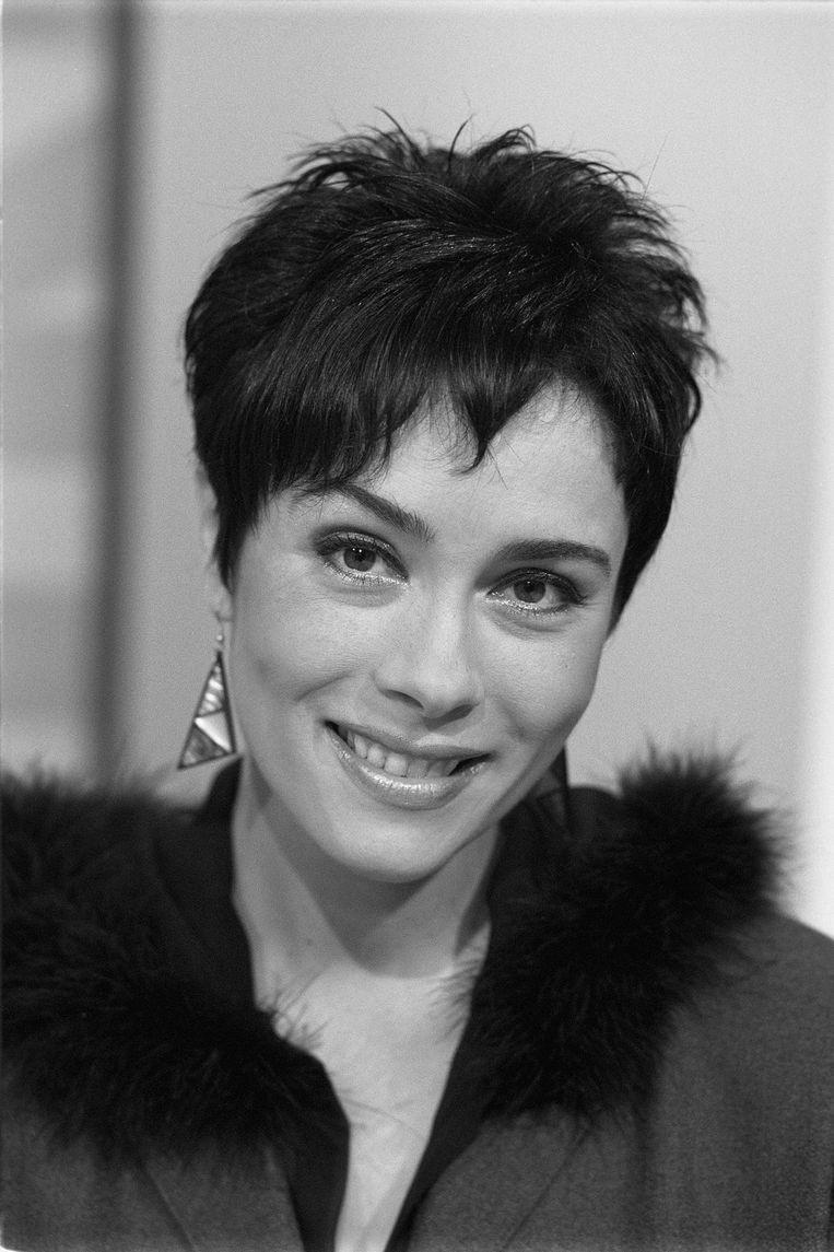 Sandra Timmerman in 1999 Beeld Hollandse Hoogte /  ANP Kippa