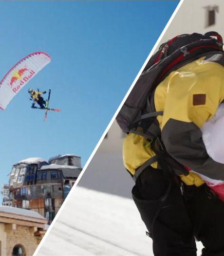 Video van de Dag | Dit skiresort is leeg en dus kan deze stuntman z'n gang gaan (en dat levert spectaculaire beelden op)