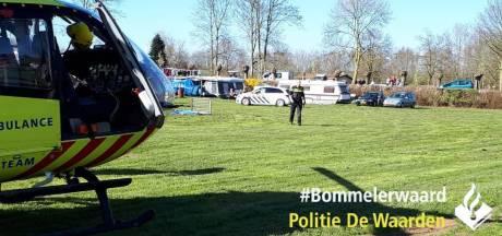Man valt van dak caravan op camping De Rietschoof in Aalst en raakt gewond
