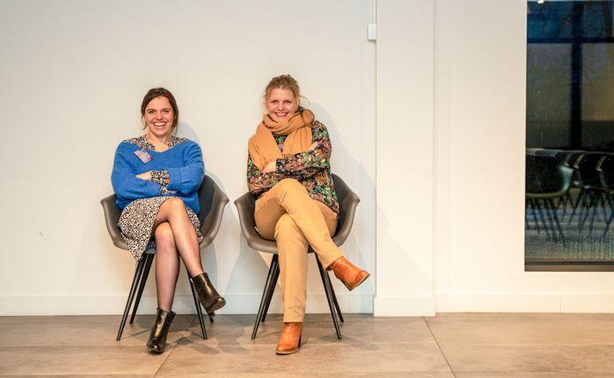 "Yana Poelman en Vicky Praet van Kompagnon: ""Vele ondernemers hebben nood aan interprofessionele gesprekken."""