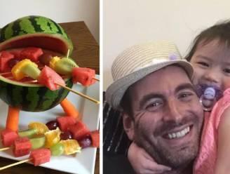 Lust voor het oog en de maag: zo doet single vader z'n dochter (4) groenten en fruit eten