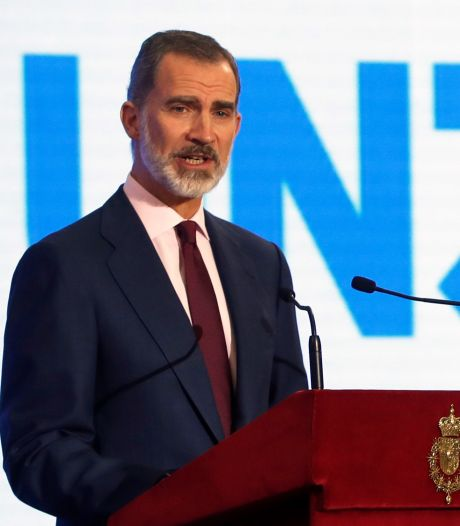 Le roi d'Espagne Felipe VI en quarantaine