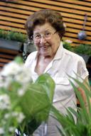 Simonne Lycops van de tuinwinkel