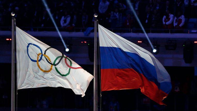 Ook op de Olympische Spelen van 2016 in Rio was er geen plaats voor Russische atleten. Beeld AP