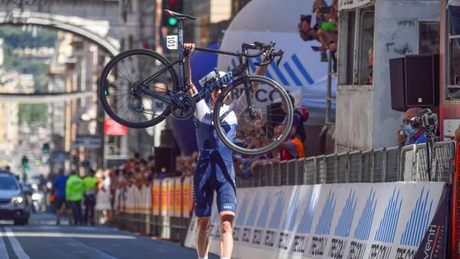 KOERS KORT. Ben Hermans soleert naar zege in Italiaanse eendagswedstrijd Giro dell'Appennino -  Blauwe voorband voor Wout van Aert in de Tour
