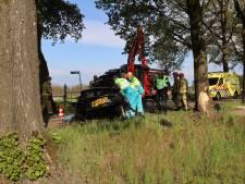 Veldhovenaar (39) overleden na aanrijding tegen boom in Wintelre