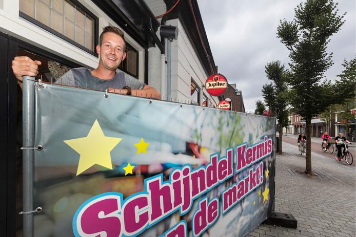 Roy van der Steen pleit ervoor dat de Schijndelse kermis terugkeert op de Markt.