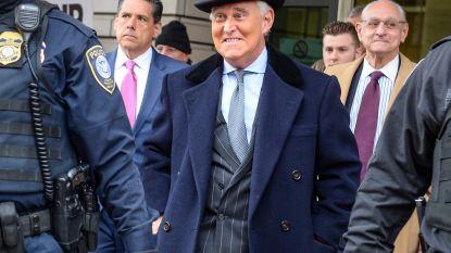 Trump-vertrouweling Roger Stone veroordeeld tot ruim drie jaar cel