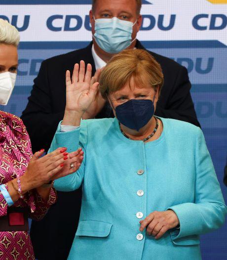 Le parti d'Angela Merkel perd des plumes, même dans la circonscription de la chancelière