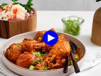 Sweet 'n spicy: deze Oosterse kippenschotel doet iedereen watertanden