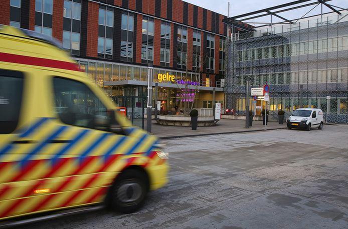 Het voorterrein van Gelre ziekenhuizen Zutphen.