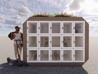 Studenten werken 'cube'-concept uit om je step veilig te kunnen in stallen