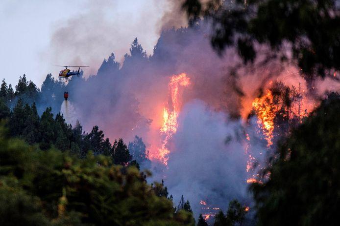 Meer dan 1500 hectare grond is inmiddels verwoest