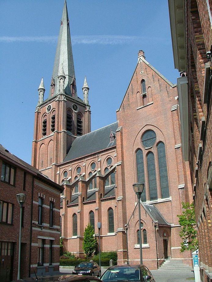 De Heilig Hartkerk op het Kerkplein in Turnhout