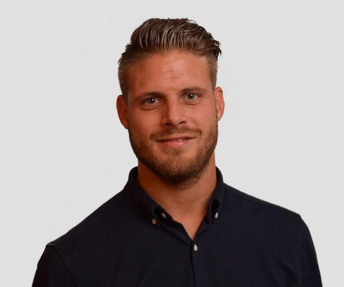 Wilco Gerritsen, kersvers aanvaller van Be Quick'28.