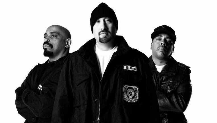 Drie leden van Cypress Hill. Beeld MAM