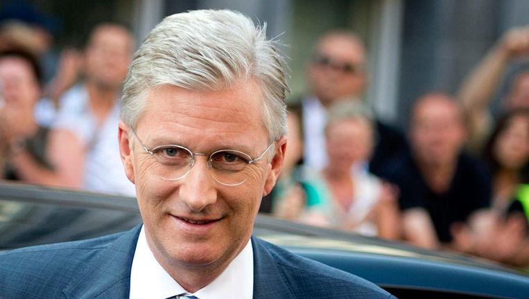'King' Filip van België. Beeld anp