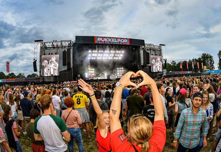 Pukkelpop in 2019. Beeld Joel Hoylaerts / Photo News