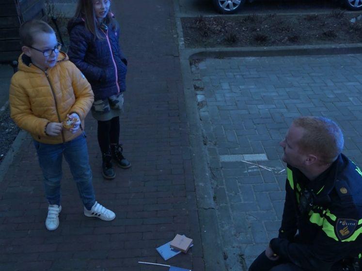Jarige Qurens (7) krijgt de politie op visite