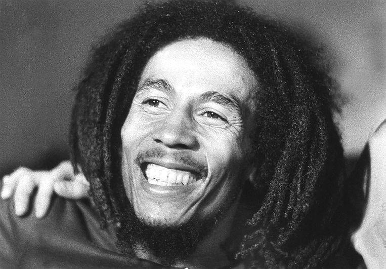 Bob Marley, de meest iconische reggae-artiest aller tijden.  Beeld AFP