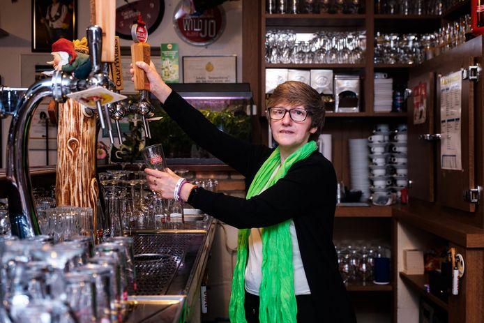 Monique Bridts van café Schuttershof.