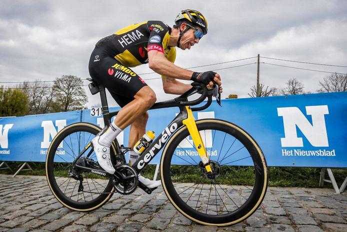Dix jous après le Tour des Flandres, Wout Van Aert retrouve la compétition sur les routes de la Flèche Brabançonne.