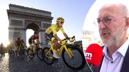"""Epidemioloog Pierre Van Damme over ingrijpend Tour-draaiboek: """"Heeft het nog zin om koers zo te laten doorgaan?"""""""