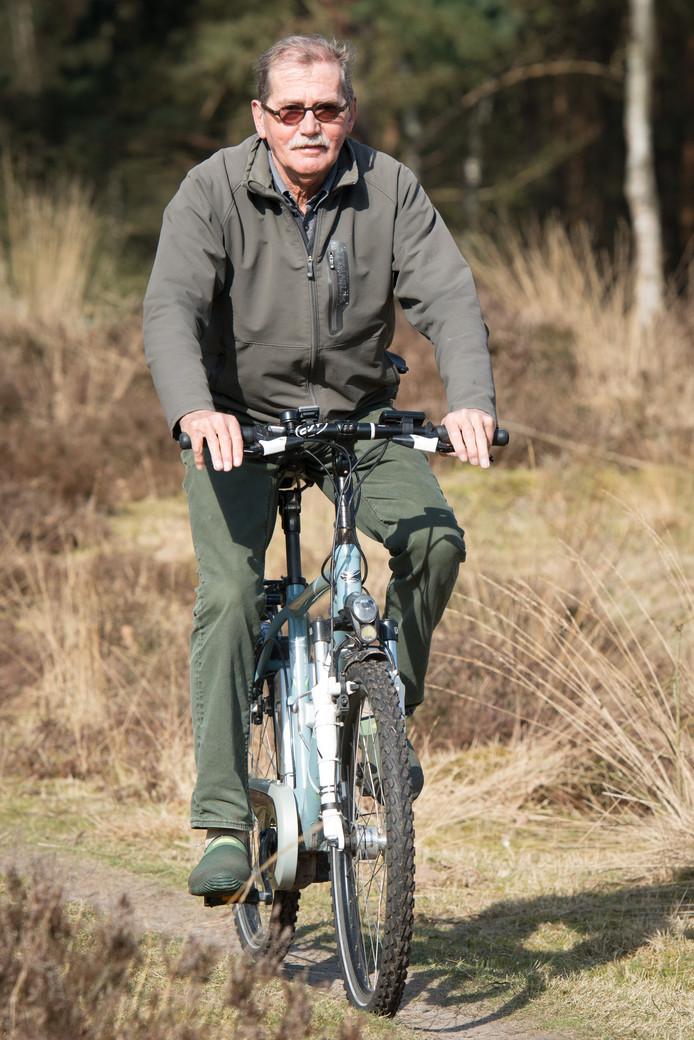 Laurenz Veendrick organiseert fietssafari's