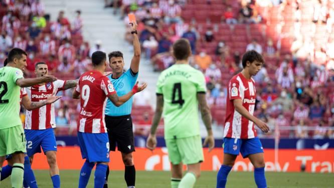 Invaller João Felix krijgt binnen paar tellen twee keer geel bij Atlético