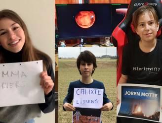 """Deze Boutersemse leerlingen landen vanavond samen met de Perseverance op Mars: """"Wie weet krijgen we binnenkort wel een brief van een alien"""""""