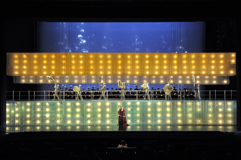 Beeld uit Pierre Audi's productie van Berlioz' 'Les Troyens' uit 2010 bij De Nationale Opera. Het is een van de 27 sleutelwerken in het boek van Benjamin Rous.