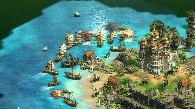De 4K-graphics van Age of Empires: Definitive Edition zijn echt knap.