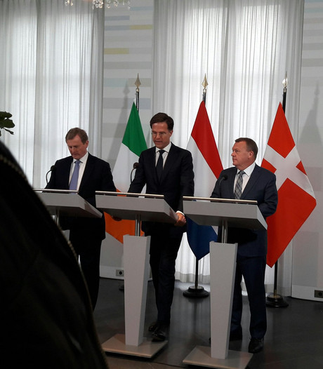 Nederland, Ierland en Denemarken eensgezind Brexit-onderhandelingen in