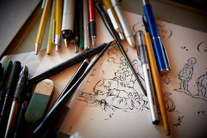 De tekentafel van Rueb