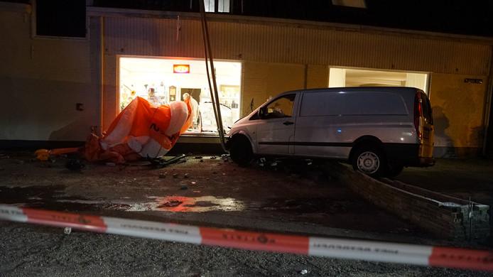 Het ongeluk vond plaats bij de kringloopwinkel in Lieren.