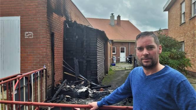 """Brandstichting bij café Beukenhof: """"Ik hoop dat dit niet persoonlijk tegen mij gericht is"""""""