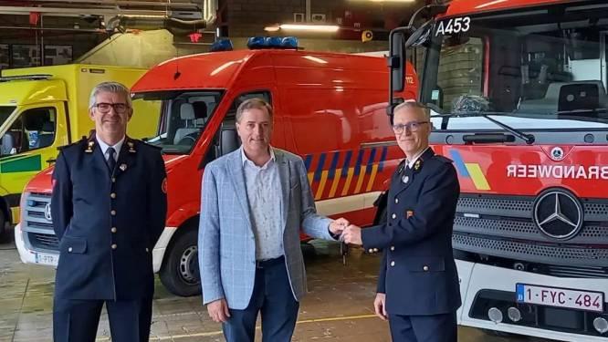 Drie 'nieuwe' voertuigen in één klap voor Poperingse brandweerpost, ook extra vrijwilligers op komst