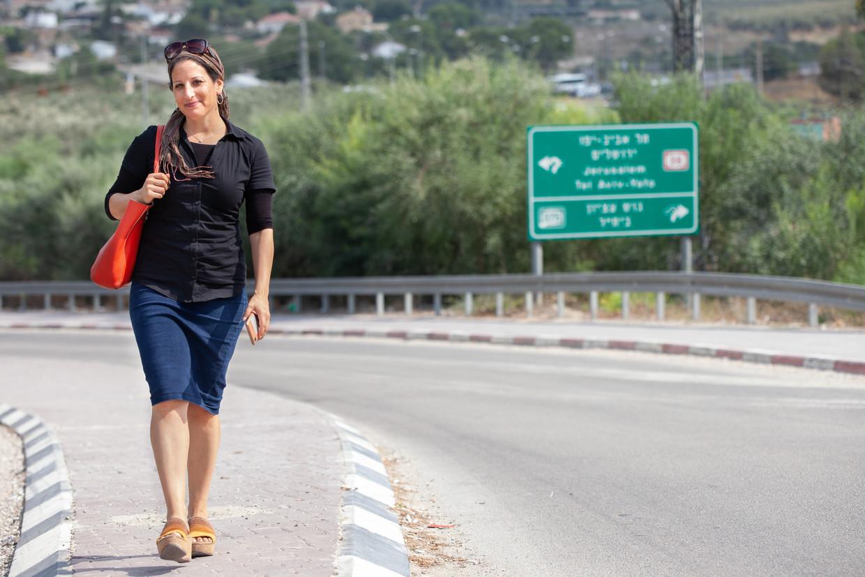 Shoshanna Jaskoll: 'Het woord borstkanker mag bij de haredi niet worden genoemd, omdat dat taboe is'.