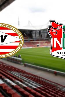 NEC won nog nooit van PSV in Philips Stadion